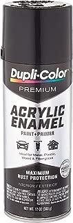 Dupli-Color Gloss Black Premium Acrylic Enamel Spray Paint (Pae100 12 Oz), 12. Fluid_Ounces