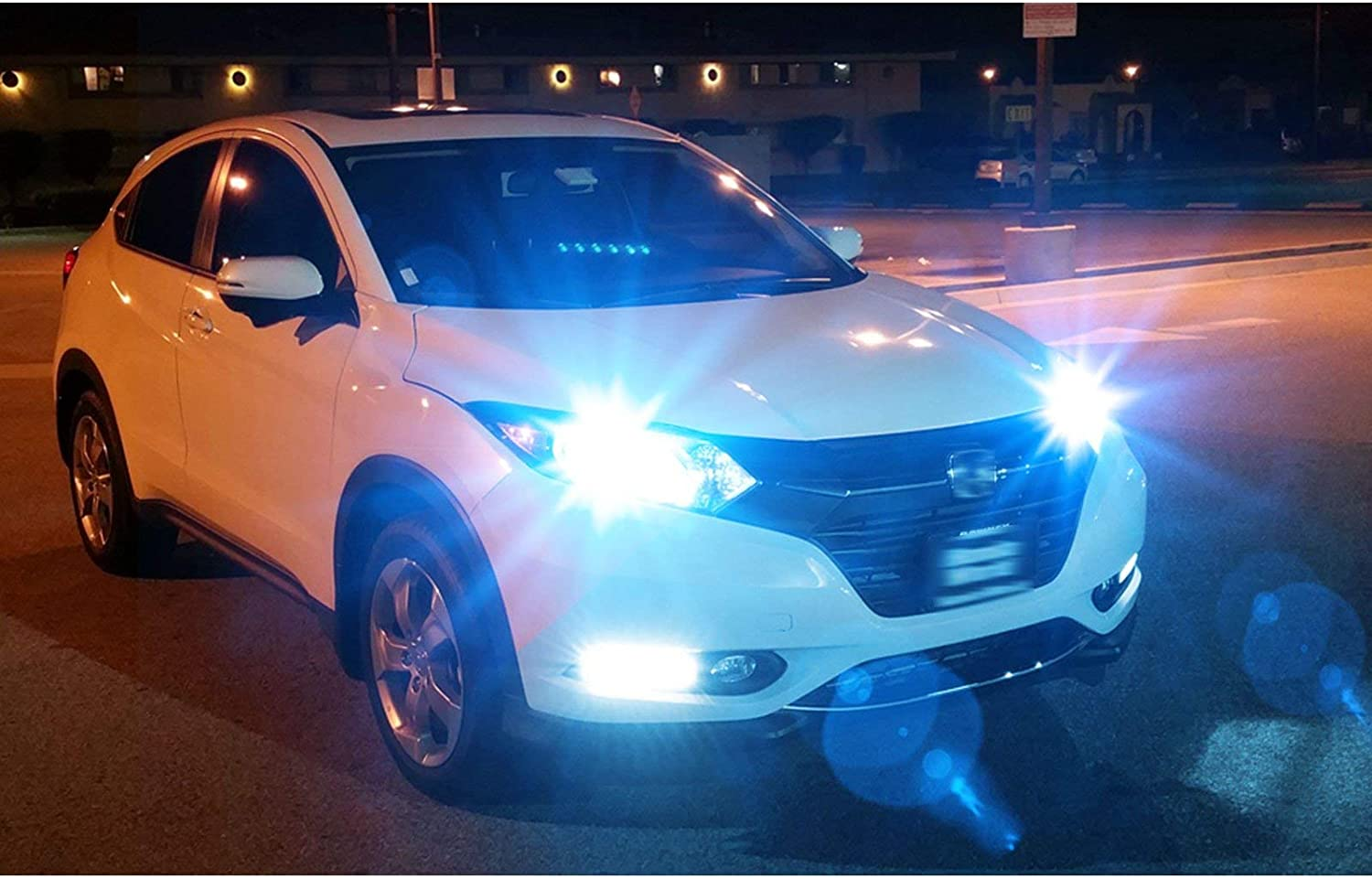 2800LM Super Bright High Power LED DRL Driving Lamp Replacement Xotic Tech H11 H8 H9 LED Fog Light Bulb Ice Blue