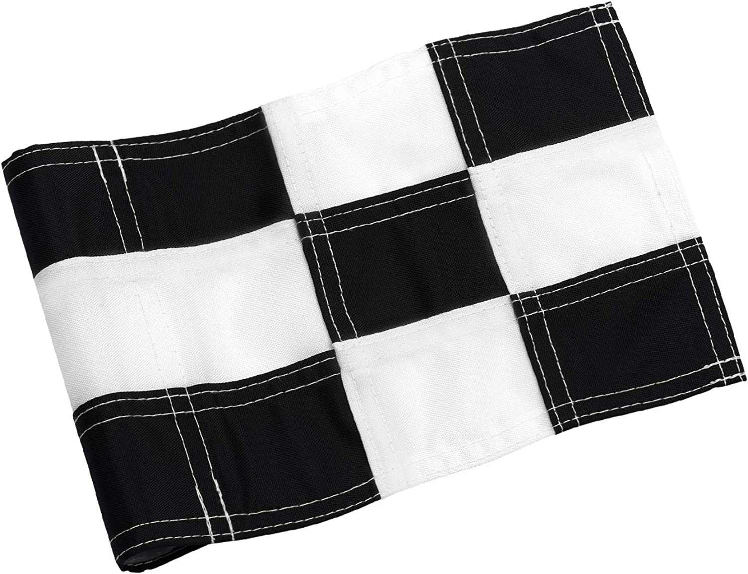 KINGTOP Checkered Golf Flag with Tube Inserted, All 8