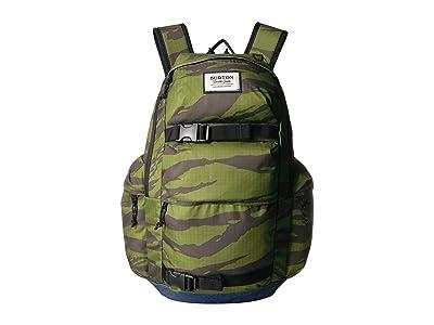 Burton Kilo Backpack (Keef Tiger Ripstop Print) Backpack Bags