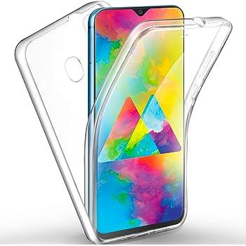 AROYI Funda Samsung Galaxy M20, Ultra Slim Doble Cara Carcasa ...