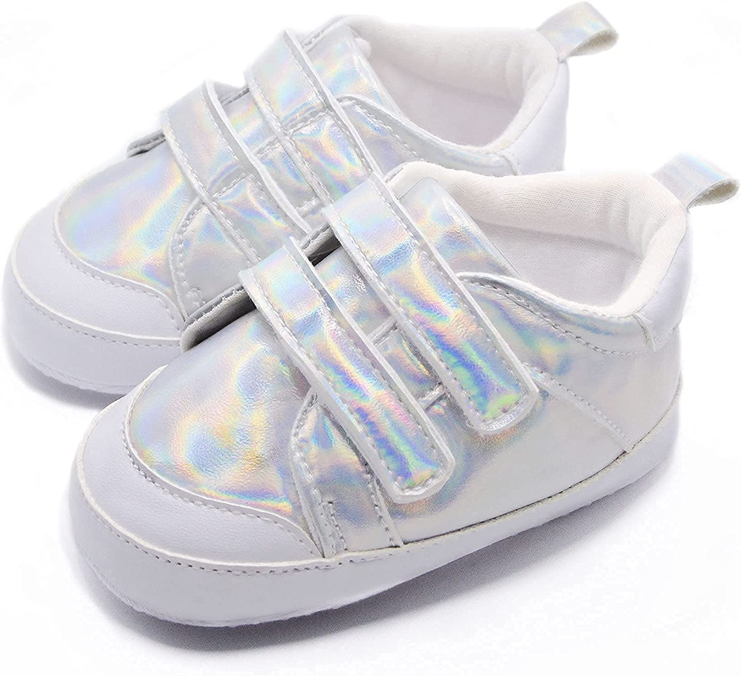 Mamimee Baby Shoes Newborn Infant Pre-Walking Shoes with Anti-Slip Sole Fashion Sneaker Unisex
