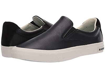 SeaVees Hawthorne Slip-On Leather (Black) Women