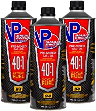 VP Racing Fuels 6295 40:1 SEF 2 Cycle Pre-Mixed Gas + Oil Fuel, Ready to Use, 3 Quarts