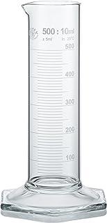 Neolab E 1281 - Cilindro medidor (500 ml, forma baja, pie hexagonal de alta clase B