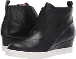 Black Perforated Nappa Leather