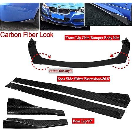 Adjustable Separation bar car Front and Rear Bumper Lip Support bar 200mm//150mm//100mm car Modification Support bar 2pcs car Bumper Guard bar