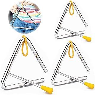 TriáNgulo Musical Instrumento De PercusióN Infantil Instrumento Triangular Percusion Instrumentos Triangulo Con Martillos ...