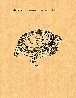Rolex Diving Watch Patent Print (5