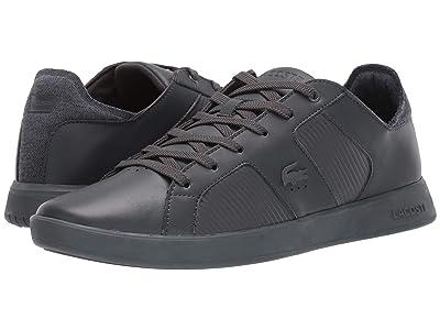 Lacoste Novas 319 2 (Dark Grey/Dark Grey) Men