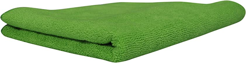 Softspun Microfiber Bath & Hair Care Towel Set of 1 Piece, 60x120 Cms, 340 GSM (Green). Super Soft & Comfortable, Quick Drying, Ultra Absorbent in Large Size.
