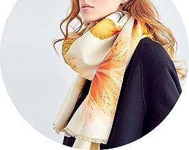 Bandana Winter Scarf Women Shawls Thicken Warm Scarves Wool Scarf Woman Wrap Printing Hijab