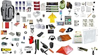 72 Hour Bug Out Backpack Bag Pack Survival Emergency Disaster Kit Zombie 3 Day Supply Kit