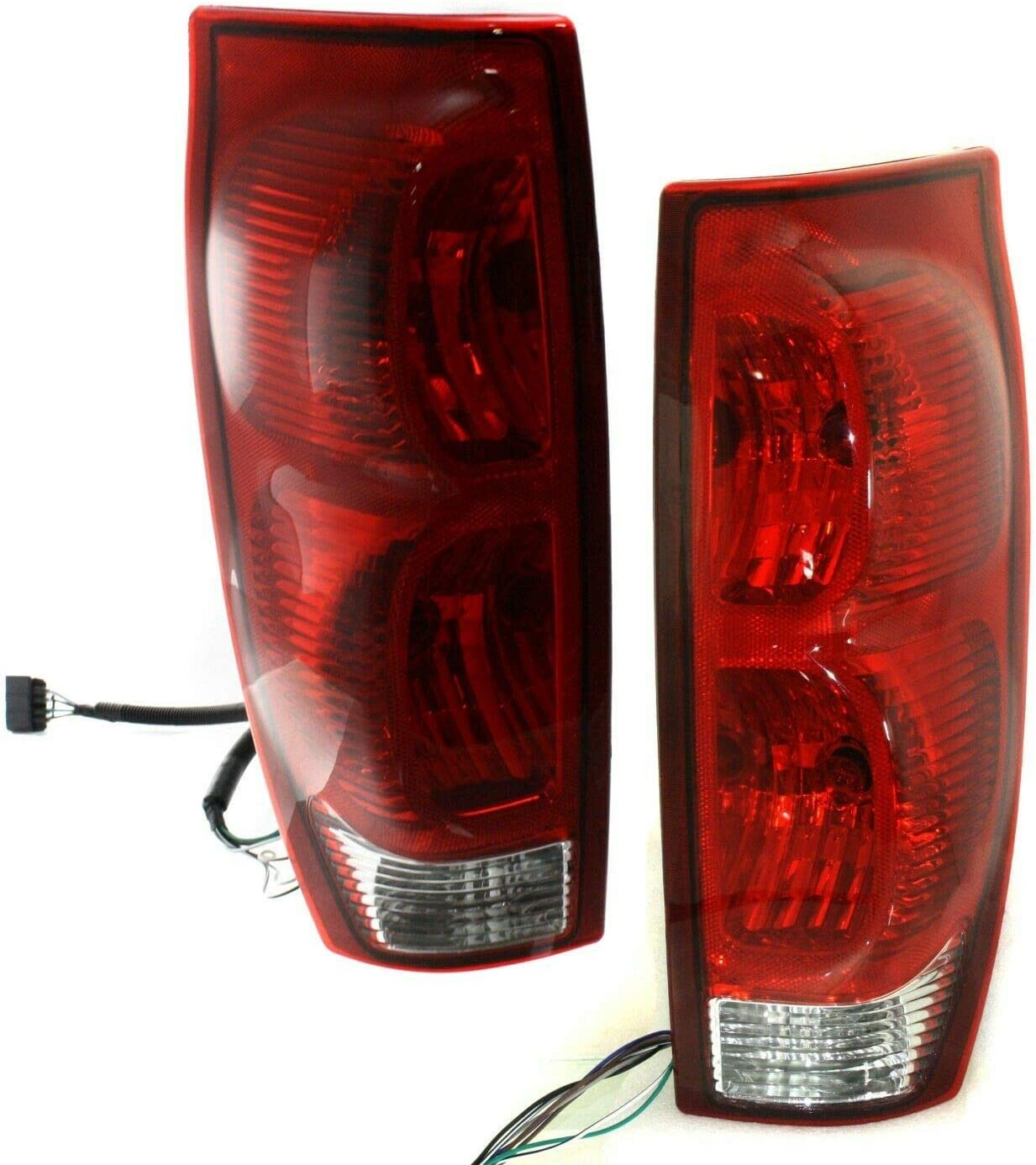 YHA Pair Tail Light for 2002-2006 40% OFF Cheap Sale Pickup Crew Cab Avalanche 1500 Ranking TOP2