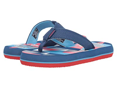 Freewaters Supreem Flip-Flops (Little Kid/Big Kid) (Navy/Red) Shoes