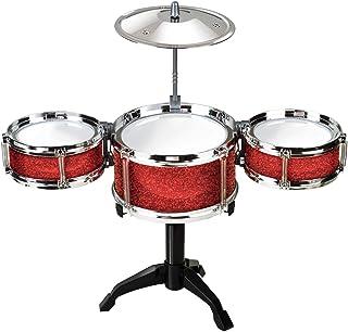 Desktop Drum Set ET7701 - Instrumento de percusión para niños (Funtime Gifts ET7701) [Importado de Inglaterra] - Set batería para niños