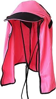 フィールドベンチャー(FIELDVENTURE) UVカット日よけ帽子 UVネックガード フリーサイズ ピンク