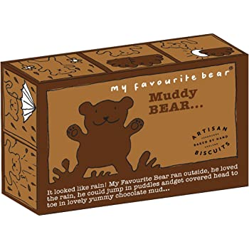 Artisan Biscuits My Favourite Bear Muddy Bear Fun Biscuits, 300 g, Lot of 3