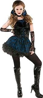 Amscan 8400700 Adult Midnight Vampire Costume, Small, Black