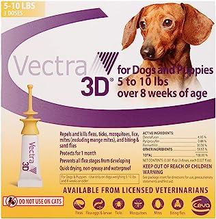 Vectra 3D XS Dog 5-10lbs, 3 Doses