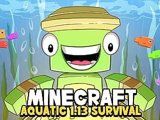 Clip: Minecraft Aquatic 1.13 Survival