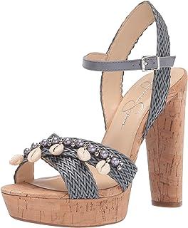 حذاء بكعب عالٍ نسائي بكعب عالٍ من Jessica Simpson