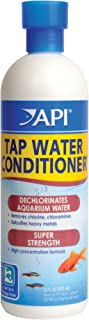 API TAP Water Conditioner, Instantly neutralizes Chlorine, chloramines and Other Chemicals to Make tap Water Safe for Fish, Highly Concentrated, Use When Adding or Changing Water and When Adding Fish