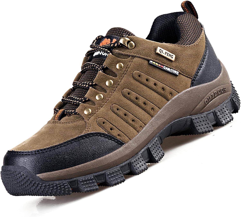 VTASQ Chaussures de Randonnée Antidérapantes pour Hommes Femmes Bottes en Plein Air Trekking Promenades Montantes Imperméable Sports Sneakers pour