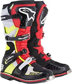 Alpinestars Tech 8 RS Boots-Black/Red/Yellow-12