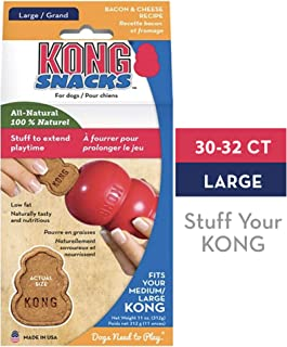 KONG - Snacks - All Natural Dog Treats (Best Used Classic Rubber Toys)