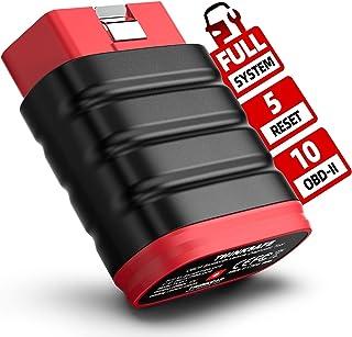 Sponsored Ad - OBD2 Scanner Bluetooth, THINKSAFE Code Reader for Full System Car Scanner with 5 Reset Services Brake/Oil/S...