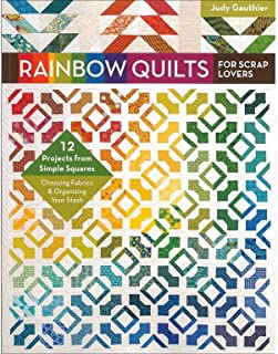 C&T PUBLISHING C&T Rainbow Quilts for Scrap Lovers Bk RainbowQuiltsforScrapLovers Back