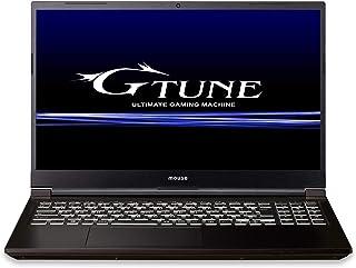 【ゲーミング】mouseノートパソコン G-Tune 15.6型(Corei7 10750H/1650/16GB/512GB(NVMe)/10Pro) NG-N-NP71SIPZK