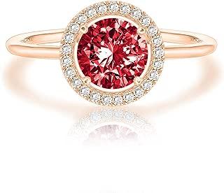 Swarovski Crystal 14K White Gold Plated Birthstone Rings   Rings for Women