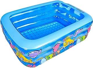Swimming Pool Family Swimming Center Rectangular Durable Friendly PVC Portable Outdoor Indoor Children Basin Bathtub Kids ...
