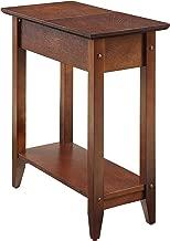 Convenience Concepts American Heritage Flip Top End Table, Espresso