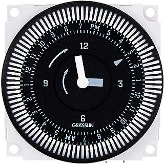 Grasslin by Intermatic FM1STUZ-120U 24-Hour 21A, SPDT, 120V Electromechanical Timer Module