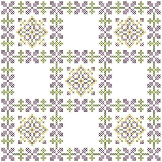 Herrschners® Floral Kaleidoscope Quilt Blocks Thread Kit