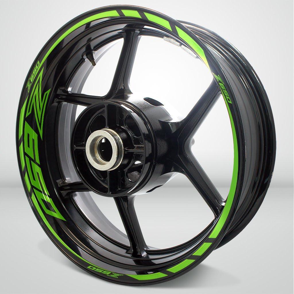 Gloss Light Seasonal Wrap Introduction Green Motorcycle Rim Accessory Wheel Sticker Selling f Decal