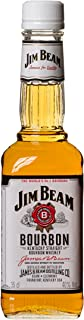 Jim Beam White Kentucky Straight Bourbon Whiskey, vollmundiger und milder Geschmack, 40% Vol, 1 x 0,35l