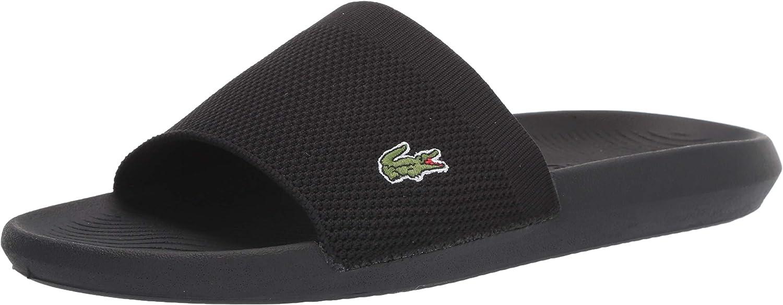 Lacoste Mens Croco Slide Sandal