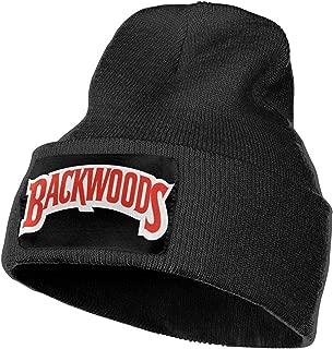 Backwoods Cigars JR Cigar Mens & Womens Knit Beanie Hat Cap Winter Caps Hats Cuffed Plain Skull Cap