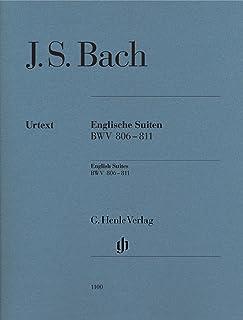 J.S.バッハ: イギリス組曲 BWV 806-811/原典版(運指なし)/ヘンレ社/ピアノ・ソロ