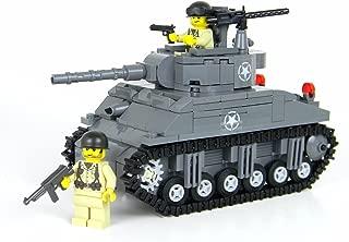 Battle Brick Deluxe M4 Sherman Tank World War 2 Hand Sorted Custom Set