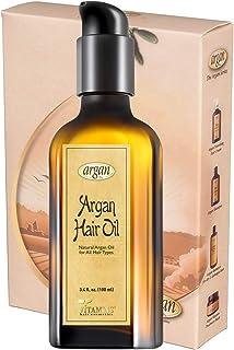 Vitamins Argan Oil Hair Moisturizer - Hair Hydrating Shine Gloss Restoration Ultra Repair Leave in Oil Treatment for Dry a...