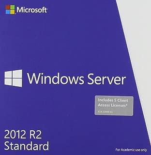 server 2012 standard edition