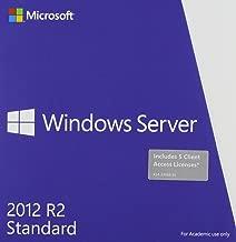 Microsoft Windows Server Standard 2012 R2 64 Bit English Academic Edition DVD 5 Clt