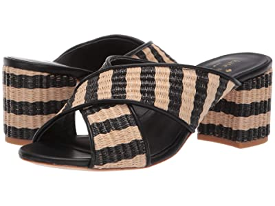 Kate Spade New York Walter (Natural/Black Raffia) Women