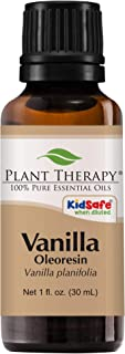 Plant Therapy Vanilla Oleoresin Essential Oil | 100% Pure, Undiluted, Natural Aromatherapy, Therapeutic Grade | 30 Milliliter (1 Ounce)