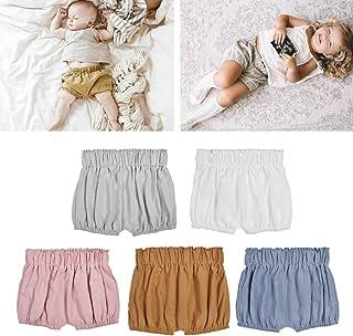 dceae6879dbf BKID Baby Ruffle Bloomers Toddler Shorts Infant Summer Panties Cotton  Underwear